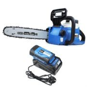 "Hyundai HYC60LI 12"" 60v Lithium-ion Battery Chainsaw With Oregon Bar & Chain / Battery & Charger"